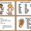 Body Parts Brain Break Cards