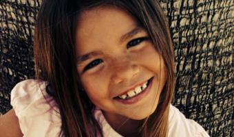 Allie smiling